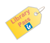 Library Pass - Editable