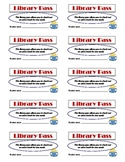 Library Pass:  Extra Book Checkout, Great Free Reward