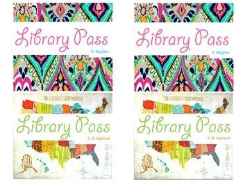 Library Passes 6 Designer Inspired Patterns