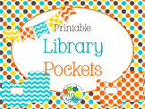 Library Pockets in Candy Colors Theme