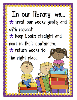 Library Poster