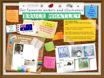 Library Poster Hi Res - Bruce Whatley Australian Children's Author Illustrator