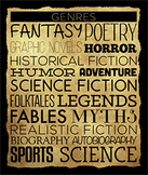 Library Poster - Genres