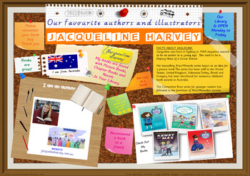 Library Poster Hi Res - Jacqueline Harvey Australian Author Of Children's Books