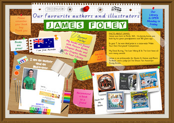 Library Poster Hi Res - James Foley Australian Children's Author Illustrator