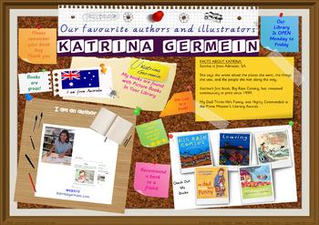 Library Poster Hi Res - Katrina Germein Australian Children's Author