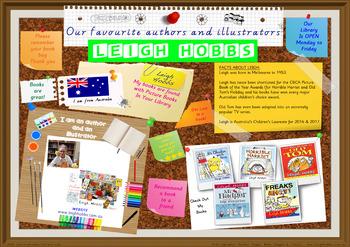 Library Poster Hi Res - Leigh Hobbs Australian Children's Author Illustrator