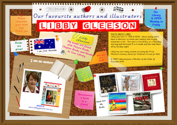 Library Poster Hi Res - Libby Gleeson Australian Children's Author