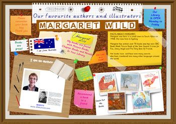Library Poster Hi Res - Margaret Wild Australian Author Of Children's Books