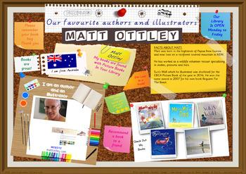 Library Poster Hi Res - Matt Ottley Australian Children's Author Illustrator