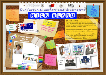 Library Poster Hi Res - Nick Bland Australian Children's Author Illustrator