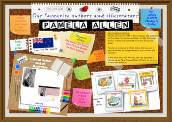 Library Poster Hi Res - Pamela Allen New Zealand Children's Author Illustrator