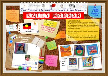 Library Poster Hi Res - Sally Morgan Indigenous Australian Children's Author
