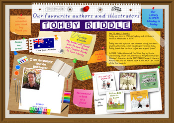 Library Poster Hi Res - Tohby Riddle Australian Children's Author Illustrator