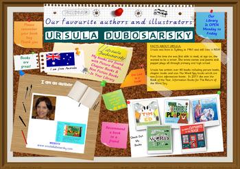 Library Poster Hi Res - Ursula Dubosarsky Australian Children's Author