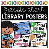 Library Posters FREEBIE