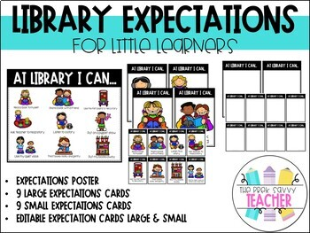 Library Posters Growing Bundle