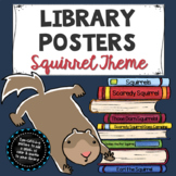 Library Posters: Squirrel Theme