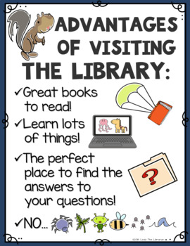 6f69f04d3506 Library Posters: Squirrel Theme