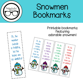 Snowmen Bookmarks