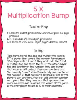 5x Multiplication Bump