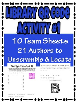 Library QR Code Activity 1