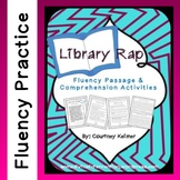 Library Rap Fluency Passage and Comprehension Questions