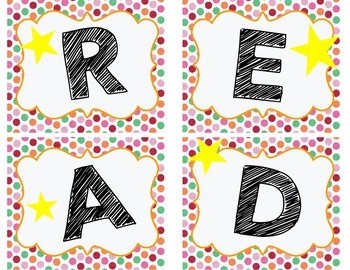 Library Reading Posters