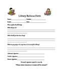 Library Refocus Form or Behavior Form
