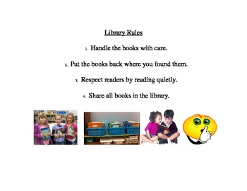 Library Rules