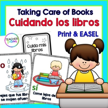 I Can Take Care of Books LIBRARY SKILLS IN SPANISH