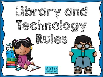 Library Rules BUNDLE