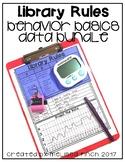 Library Rules- Behavior Basics Data