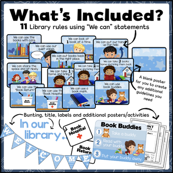 Library Rules (Posters and More!)