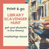 Library Scavenger Hunt