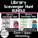 Library Scavenger Hunt BUNDLE