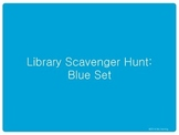 Library Scavenger Hunt: Blue Set