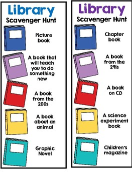 image about Dewey Decimal System Printable Bookmarks called Library Scavenger Hunt Dewey Decimal Method