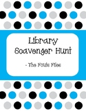 Library Scavenger Hunt - Find books throughout the library!