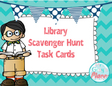 Library Skills: Scavenger Hunt Task Cards