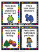 Library Scavenger Hunt Task Cards- Lower Elementary