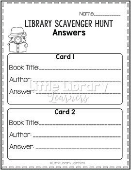 a description of library scavenger hunt The scavenger hunts take place on weekends and are played on teams of up to six people no knowledge of any hunt location is required—all you need is a sharp mind and a good pair of shoes advance purchase is required for all hunts.