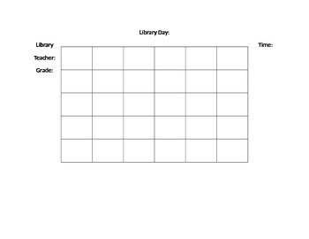 Library Seating Chart