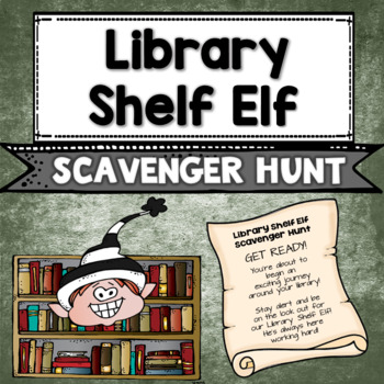 Library Shelf Elf: Scavenger Hunt