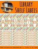 Library Shelf Labels Fiction/Dewey 000-900 Primary Colors