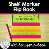 Library Shelf Marker Flip Book