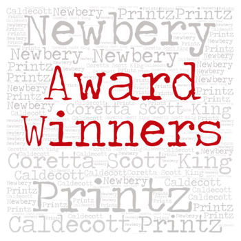 Library Sign: AWARD WINNERS