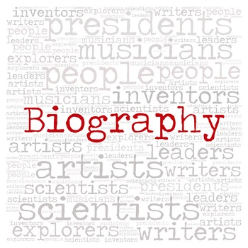 Library Sign:  BIOGRAPHY