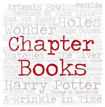Library Sign:  CHAPTER BOOKS (Intermediate Grades)