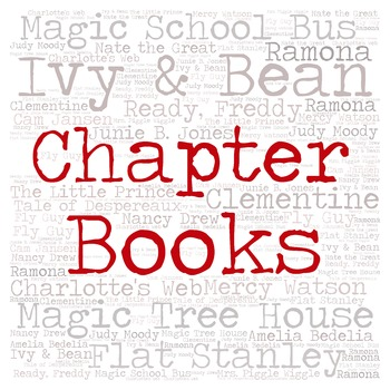Library Sign:  CHAPTER BOOKS (Primary Grades)